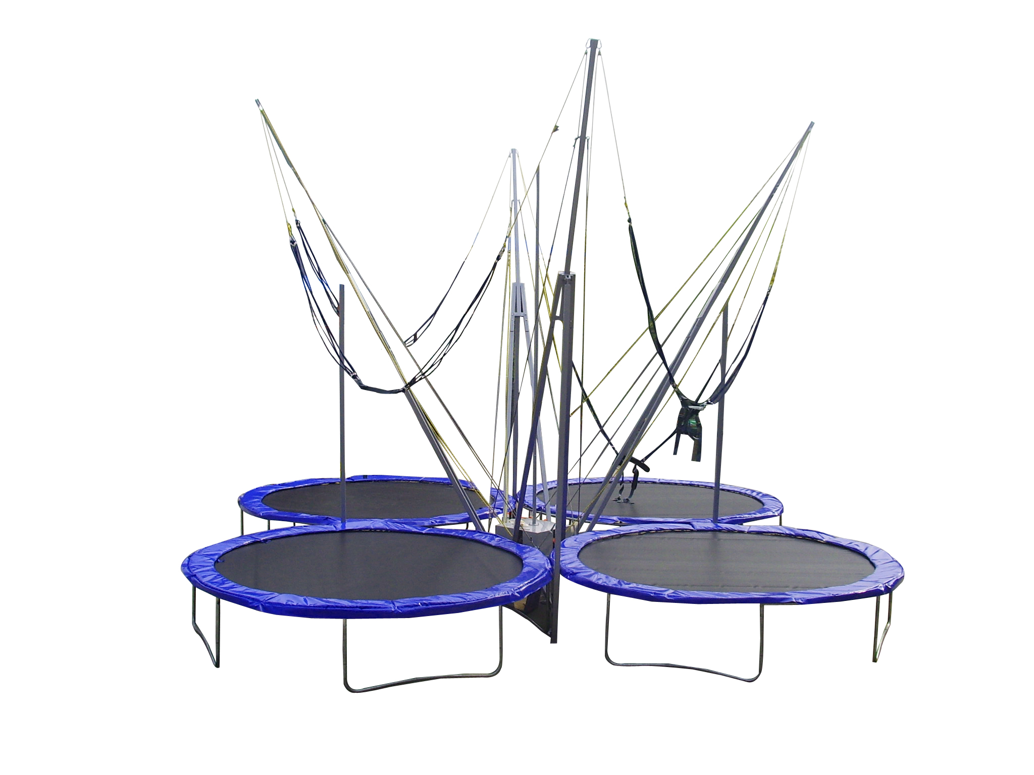 Bungee Trampoline,Bungy Trampoline,Euro Bungy Trampoline,Bungee Jump,4 in one Bungee Trampoline