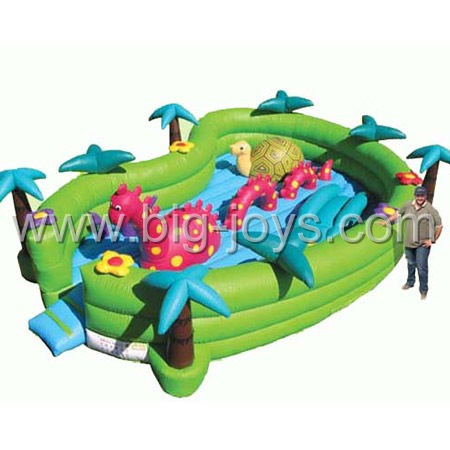inflatable forest bouncer,Inflatable small kids bouncy castle