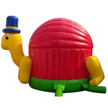 inflatable turtle bouncer,inflatable small animal bouncy castle