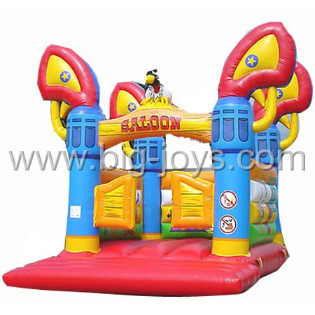 inflatable saloon jump bouncer,inflatable used bouncy castle