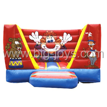 inflatable event clown bouncer,inflatable small bouncer for sale