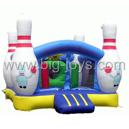 inflatable bowling bouncer,inflatable bouncer game