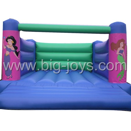 inflatable sea-maid bouncer,inflatable small jump for sale