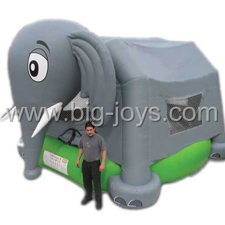 inflatable elephant jumping house,inflatable kids animal bounce house for sale