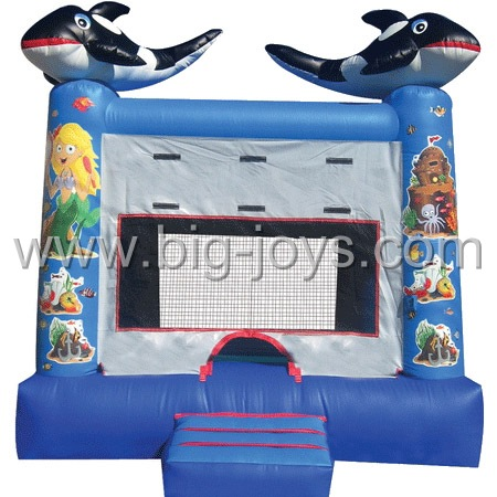 inflatable dolphin bouncer,inflatable kids commercial animal bouncer