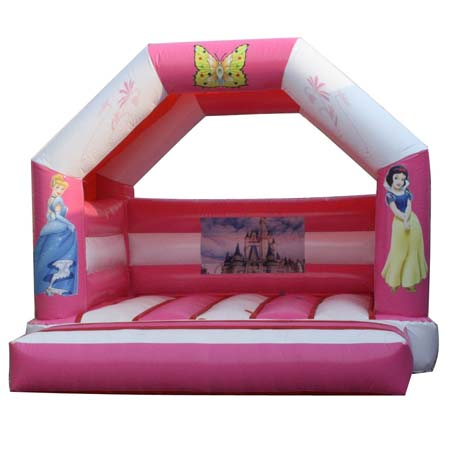 inflatable kids pink bouncer,inflatable princess bouncer