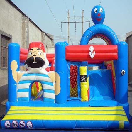 inflatable pirate bouncer slide,new jumping castle for sale