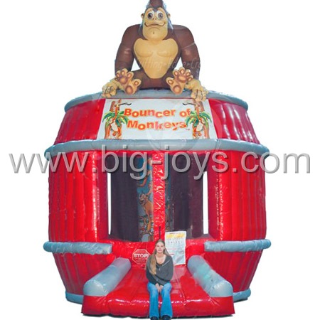 inflatable monkey bounce house,inflatable kids bounce house for sale