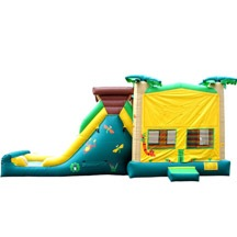 kids inflatable jungle theme playground