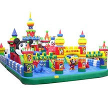 theme park inflatable ground,inflatable playground for kids