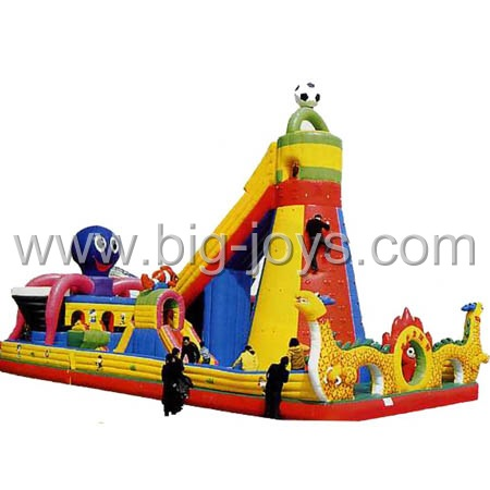 large inflatable bounce playground,big inflatable jumping castle