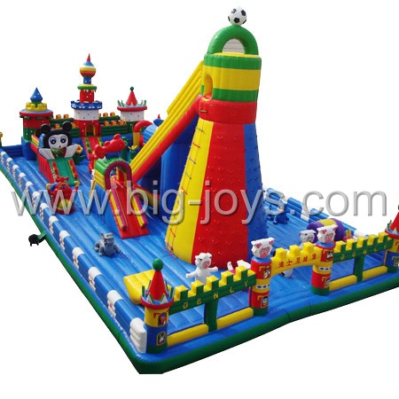 inflatable climbing park,inflatable park for children