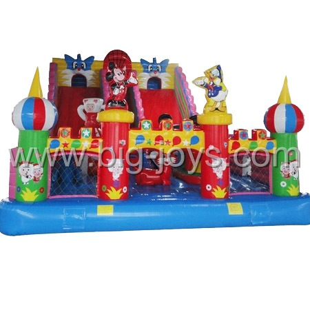 inflatable theme park palyground,inflatable jump bounce ground