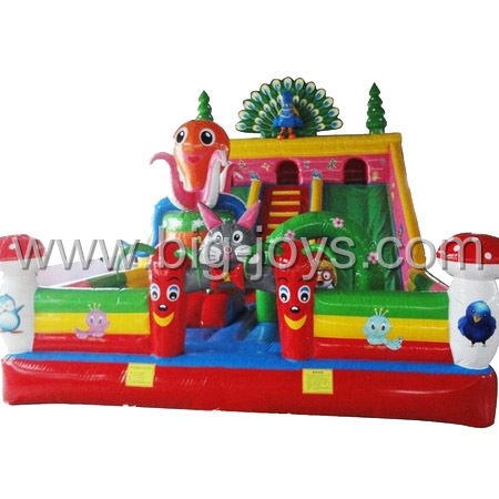 giant inflatable slide park,large inflatable trampoline