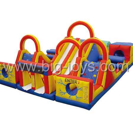 Inflatable obstacle Contest, Adventure Rush Inflatable Obstacle Course, Adrenaline Rush Obstacle