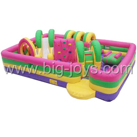 Obstacle Bouncer, Toddler Inflatable Obstacle, Bouncer Slide, Inflatable Trampoline