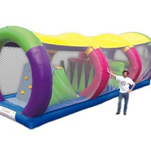 Inflatable Cross Tunel, Inflatable Tunnel Obstacle