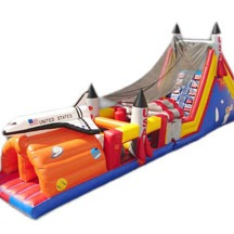 Space Shuttle Obstacle Course, Castle Obstacle Course