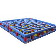 Inflatable Maze, Inflatable labyrinth, Inflatable Maze Obstacle