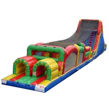 Climbing Obstacle Course, Boot Camp Inflatable Obstacle Course