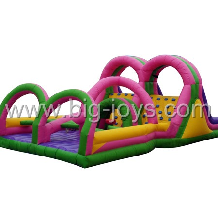inflatable commercial obstacle,inflatable obstacle jump castle,Inflatable Games China