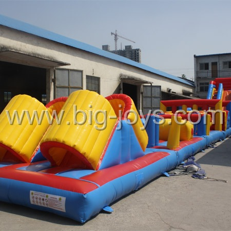 Outdoor Inflatable Obstacle,Giant Obstacle Course,Jumping Castle Obstacle