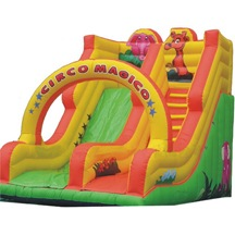 Inflatable Jungle Slide,  Inflatable Arch Slide