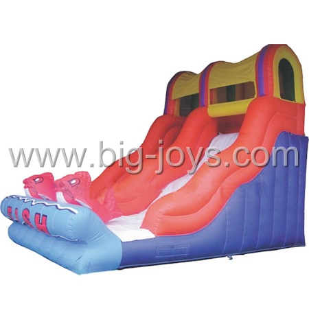Inflatable Sea Slide, Inflatable frozen Slide, Dolphin Inflatable Side