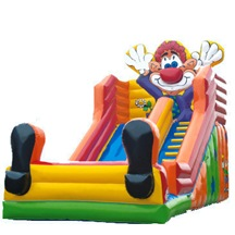 Inflatable Clown Slide, Inflatable Theme Park Slide