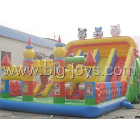 Inflatable Fun Slide, Cartoon Inflatable Slide