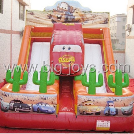 Inflatable Car Slide,  Adult Jumbo Slide Inflatable