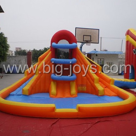Inflatable Slide with Pool, Inflatable Pool Slide, Inflatable Water Slide for sale