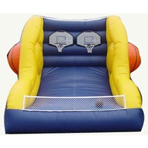 small inflatable basketball games for sale,customized inflatable basketball games