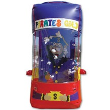 inflatable money catch box,inflatable game for sale