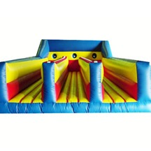 3lane inflatable bungee run game,inflatable bungee sport