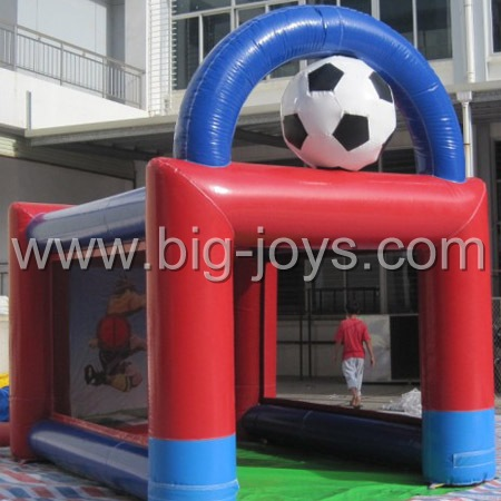 Inflatable soccer goal, inflatable football game, Inflatable football goal, Sport Spped Pitch