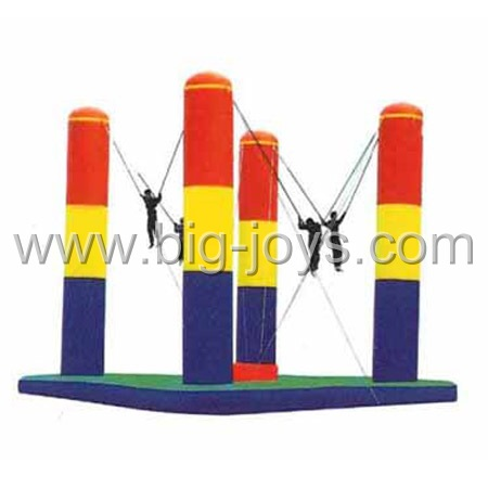 inflatable bungee jump,inflatable bungee trampoline for sale