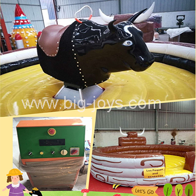 mechanical bull in inflatable bouncer,mechanical rides for sale,bull riding machine
