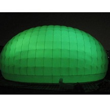 inflatable igloo with LED light
