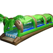 Jungle Water Sliding Inflatable