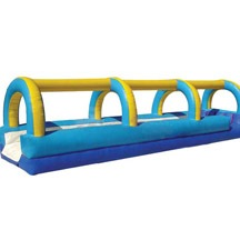 Air Sealed Inflatable Floating Water Park Slide