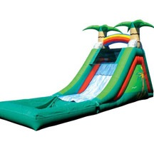 Wholesale Inflatable Wet Slideway
