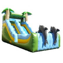 inflatable slide water slide