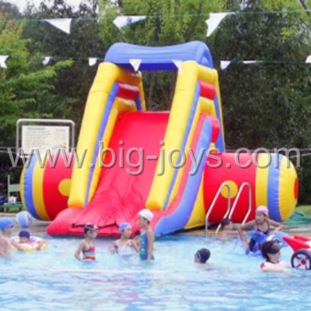 backyard inflatable small slide