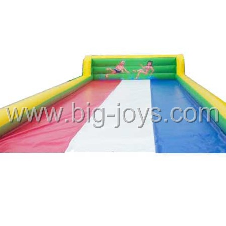 Long Inflatable Water Slide Playground