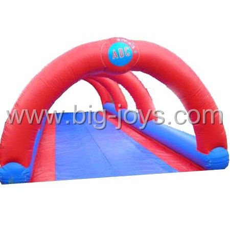 Custom made large inflatable city Slide