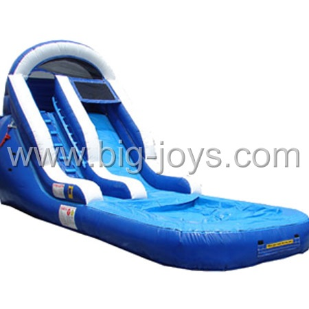 Double Sided Inflatable Pool Slide