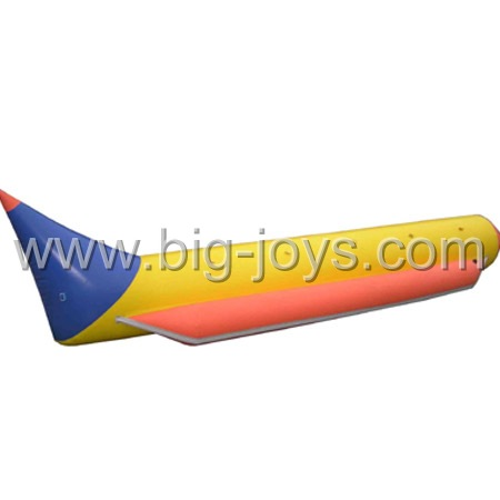 Inflatable banana boat, inflatable floating water game