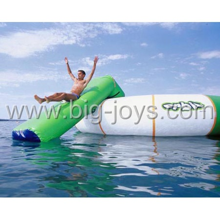 Inflatable water toy with slide,inflatable water sports