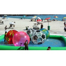 beach inflatable ball pool for children